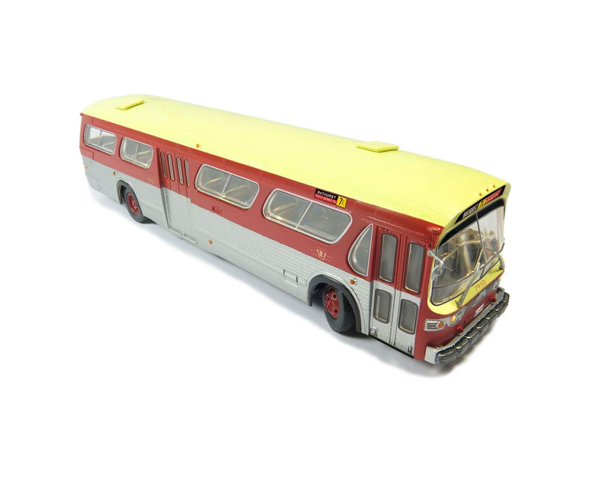 Rapido Trains HO 1:87 Bus, TTC/Maroon #7910