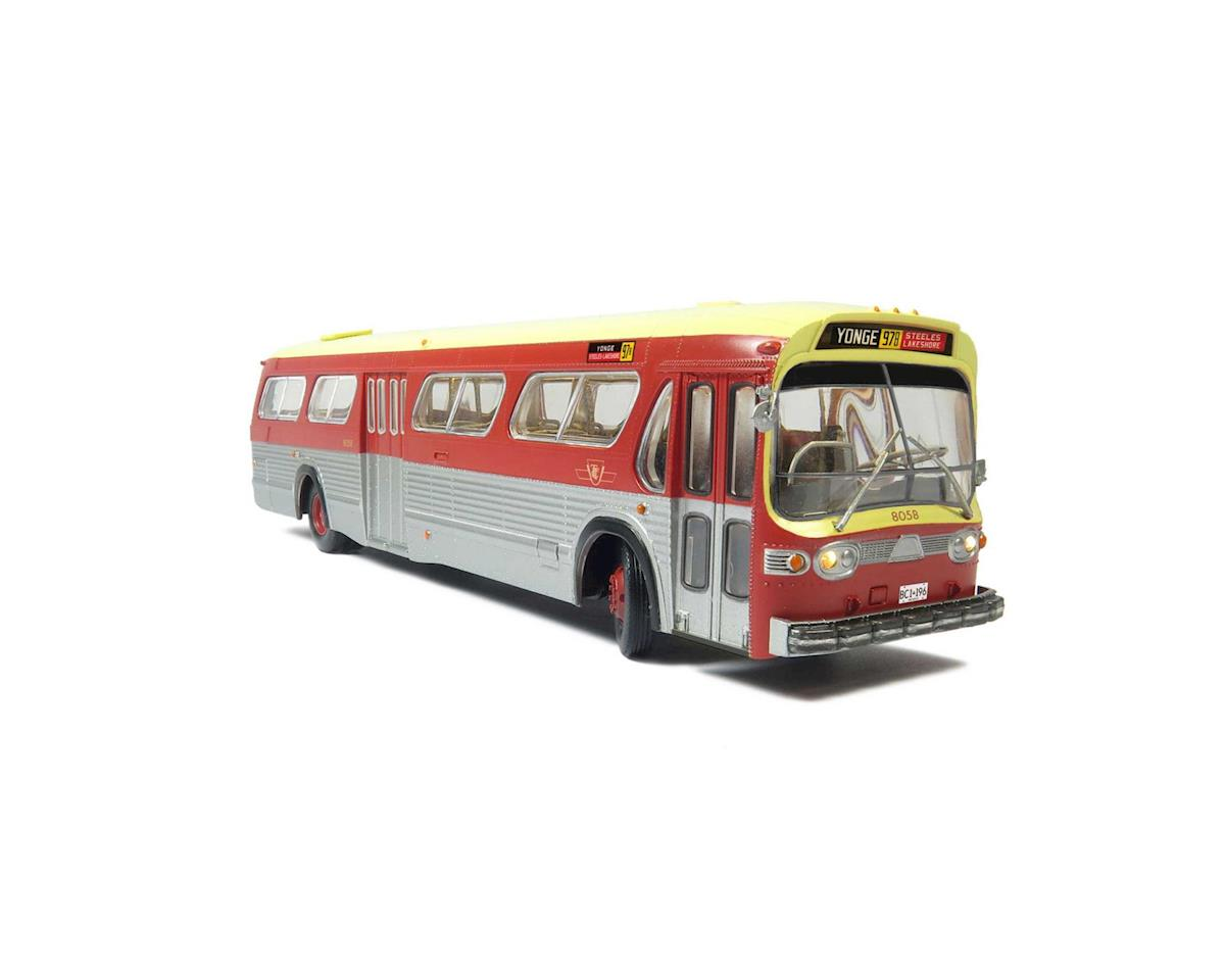 Rapido Trains HO 1:87 Bus, TTC/Maroon #8058