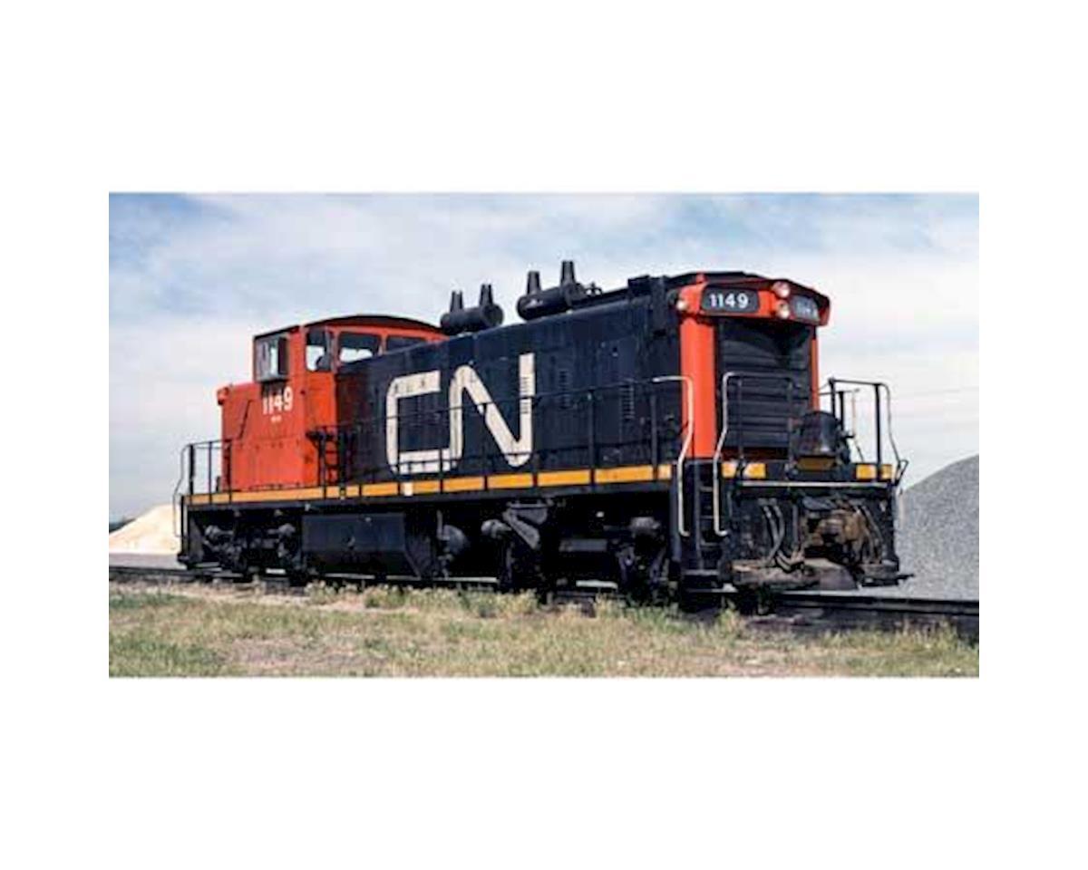 Rapido Trains N GMD-1 w/DCC & Sound, CN/Red Cab #1149