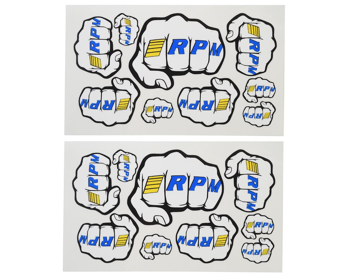Fist Logo Decal Sheets by RPM