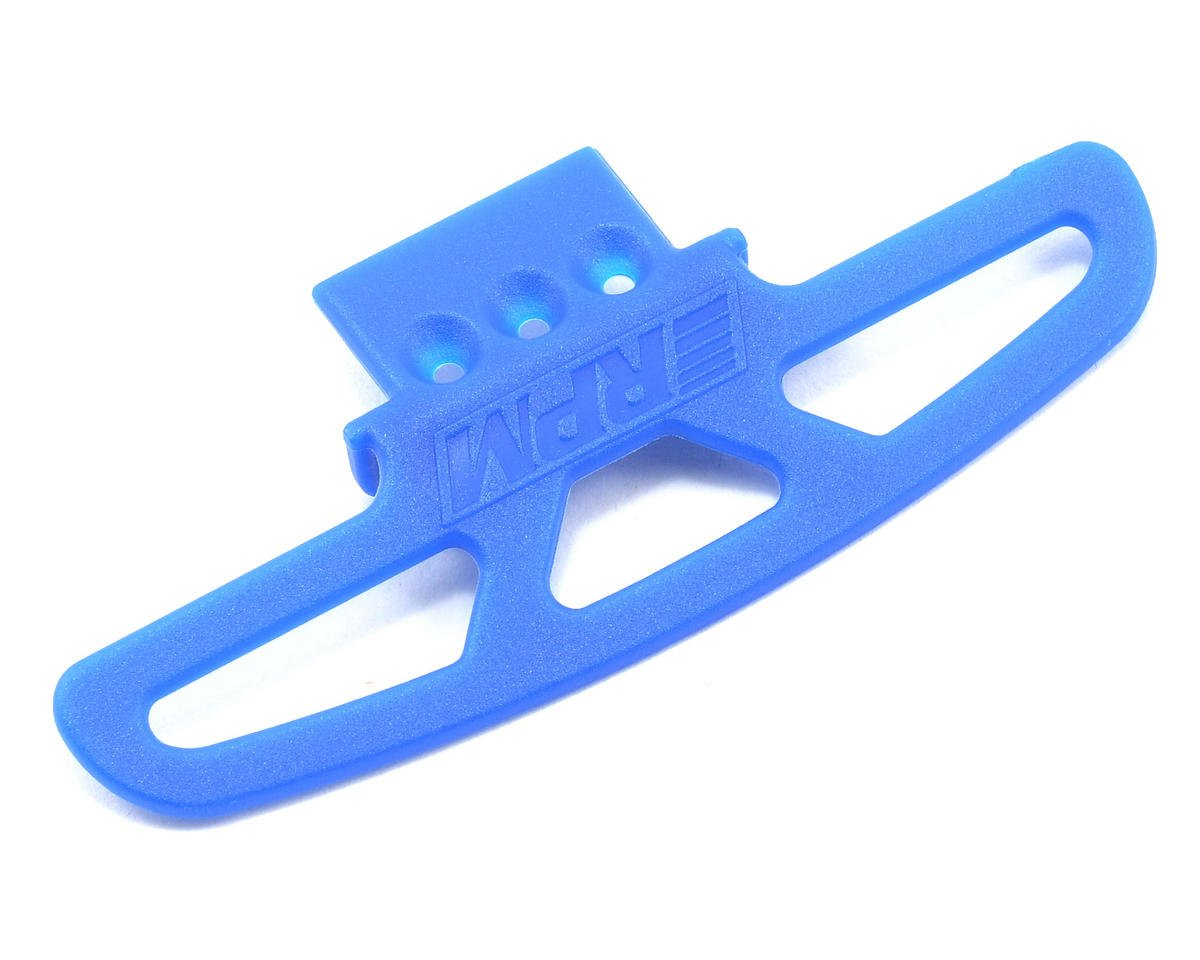 RPM Wide Front Bumper/A-Arm Mount (Blue) (18T) (Team Associated RC18T)
