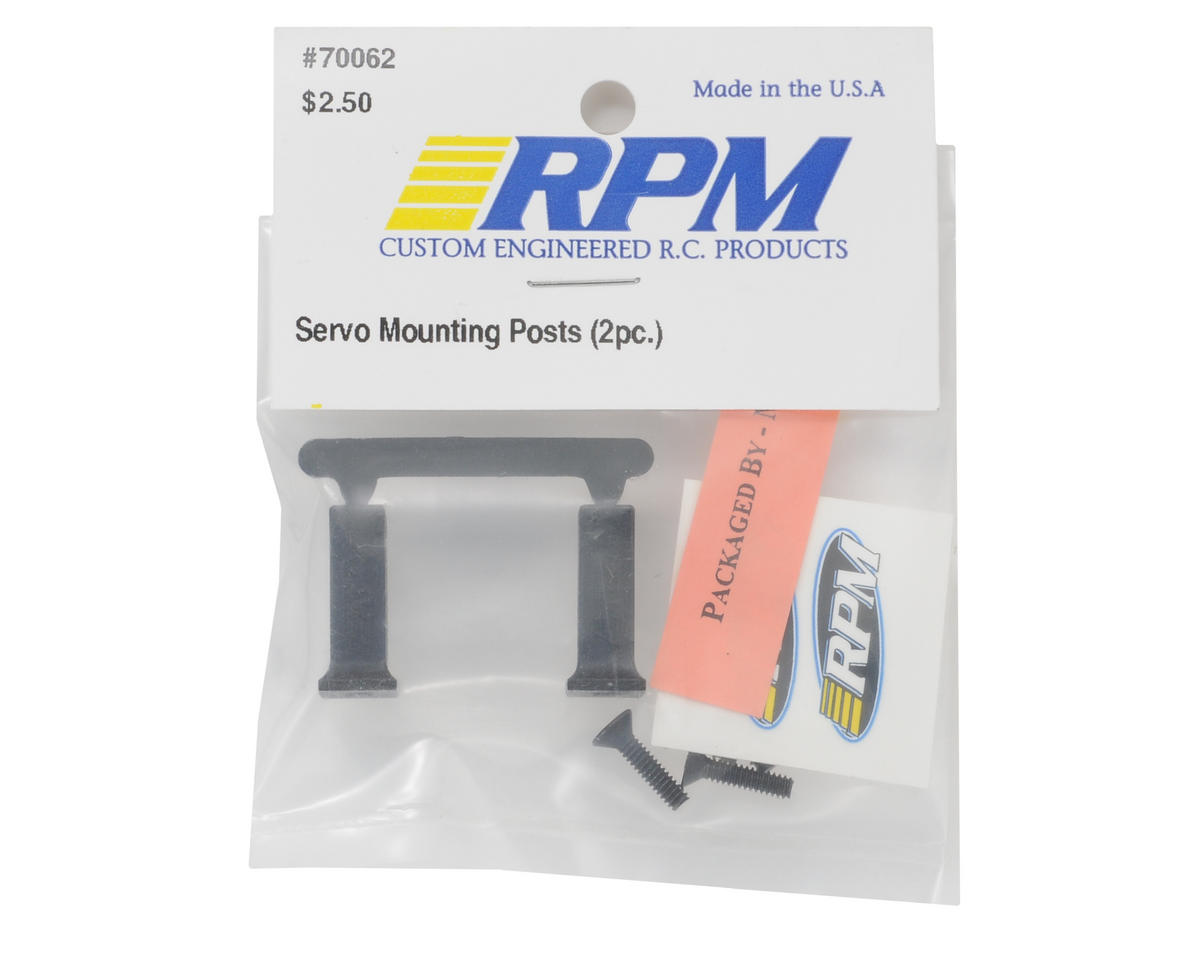 RPM Servo Mounting Posts
