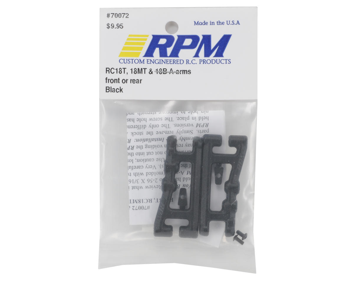 RPM A-Arm (Black) (18T,18MT,18B) (2)