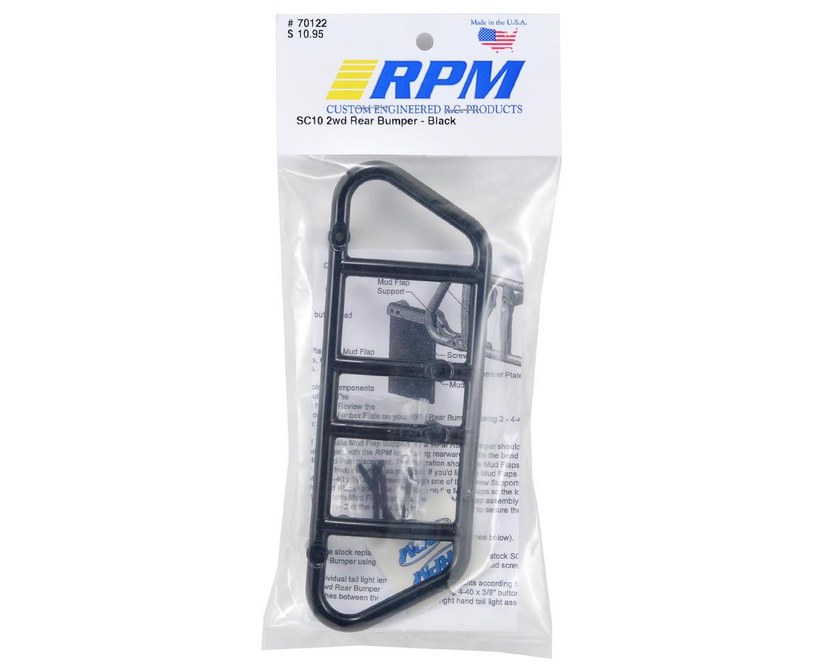SC10 Rear Bumper (Black) by RPM