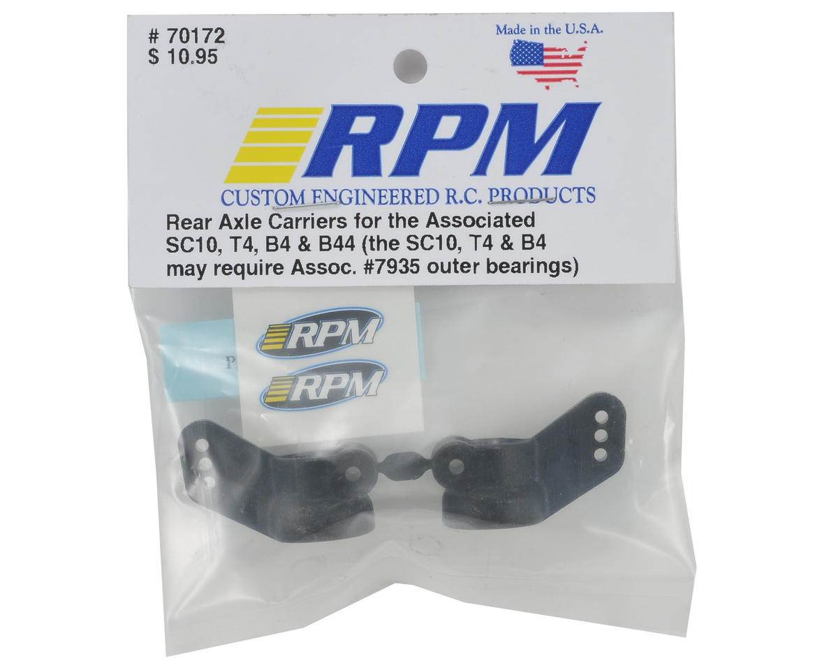 RPM Rear Hub Carrier Set