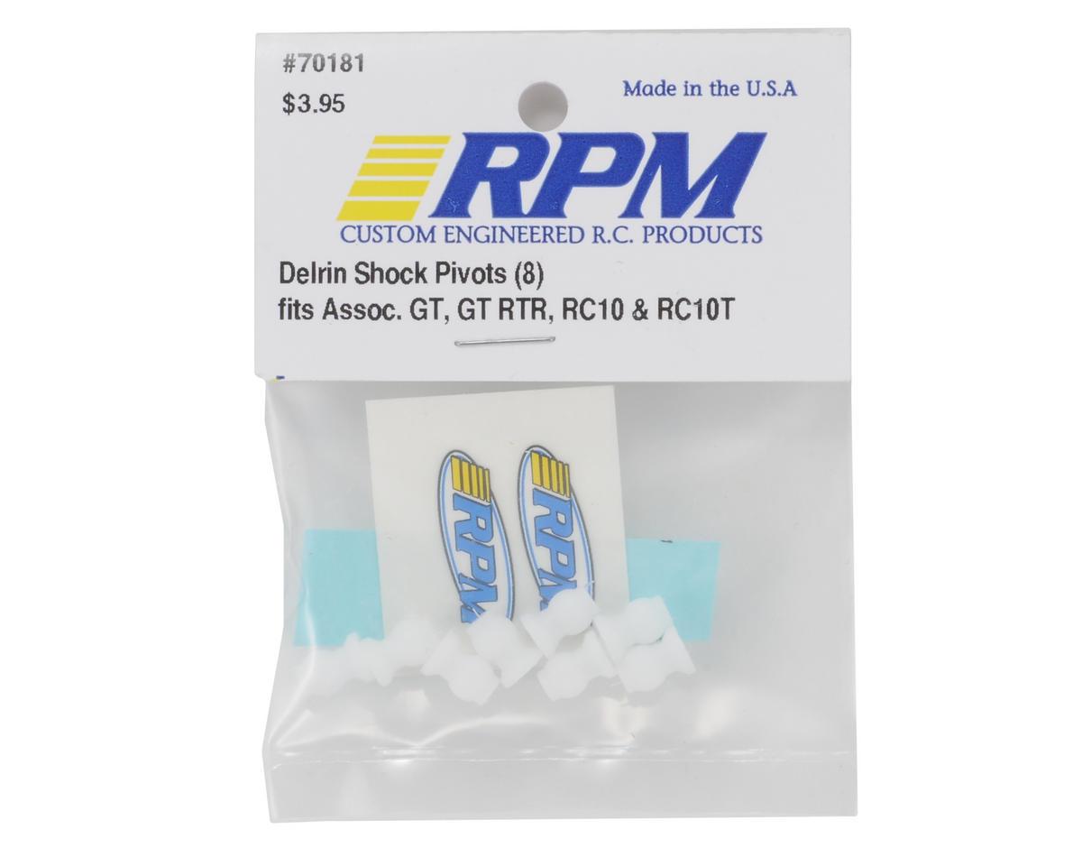 RPM Delrin Shock Pivot Balls