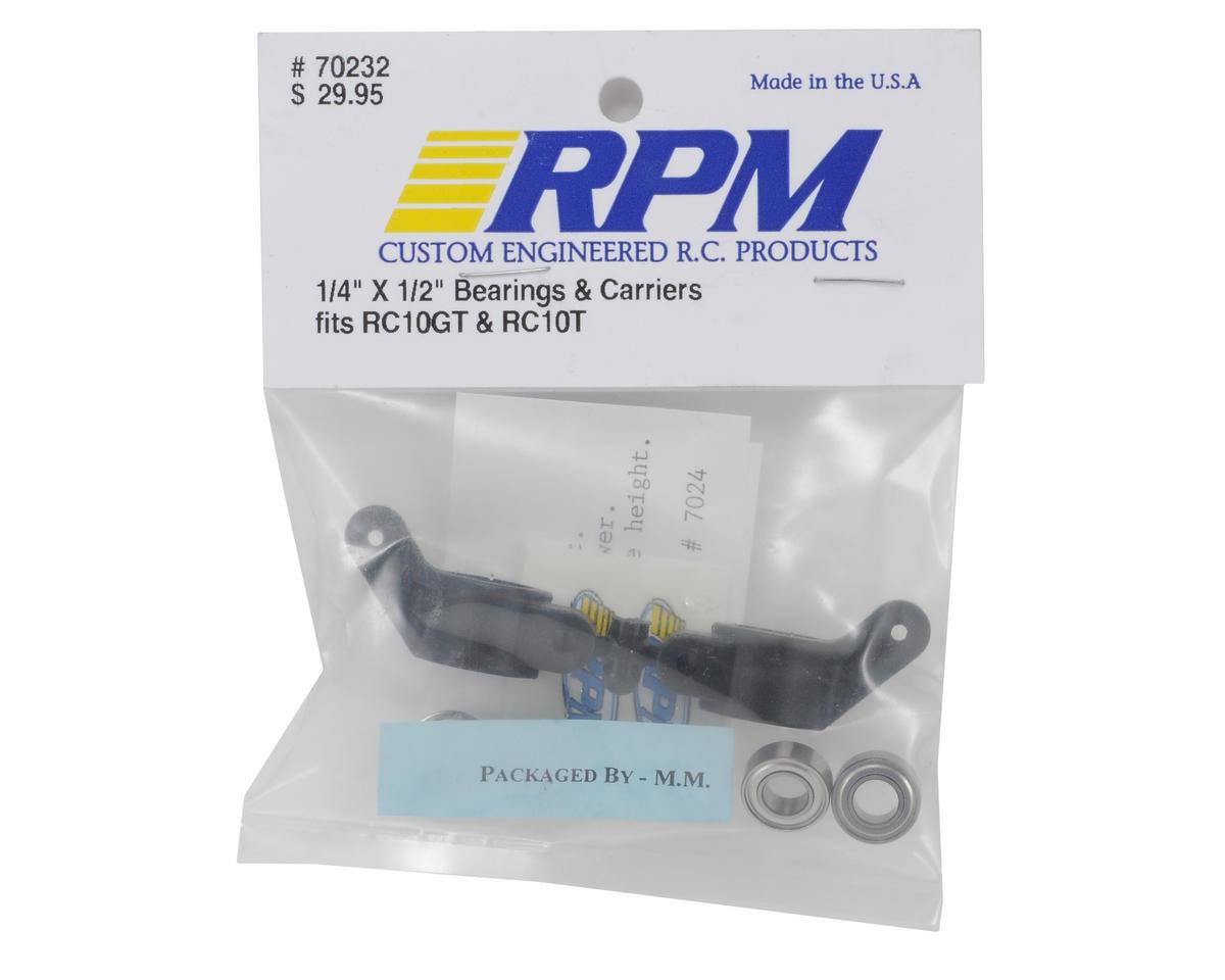 """RPM 1/4x1/2"""" Bearings w/Rear Axle Carriers"""
