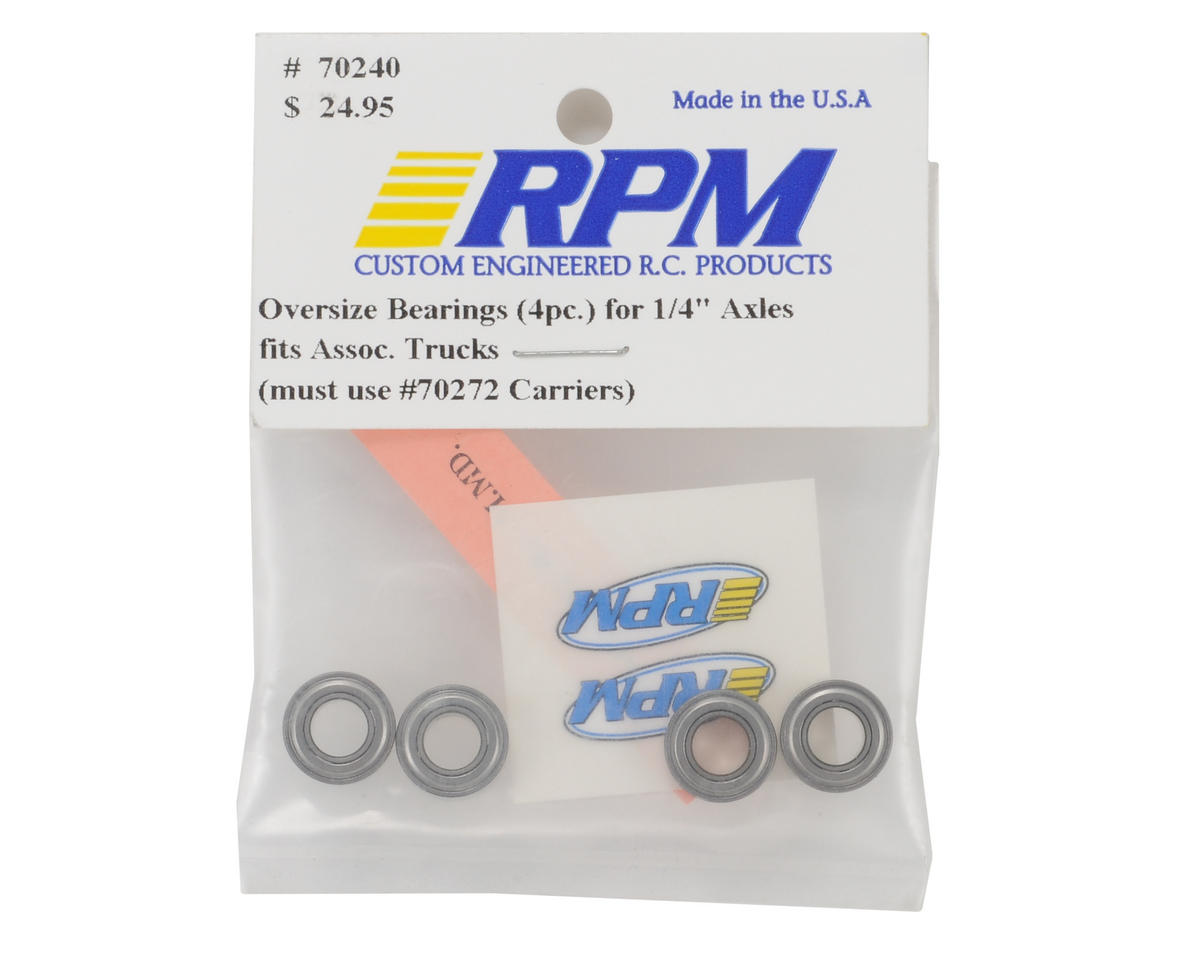 "RPM 1/4x1/2"" Bearings Associated Trucks (4)"