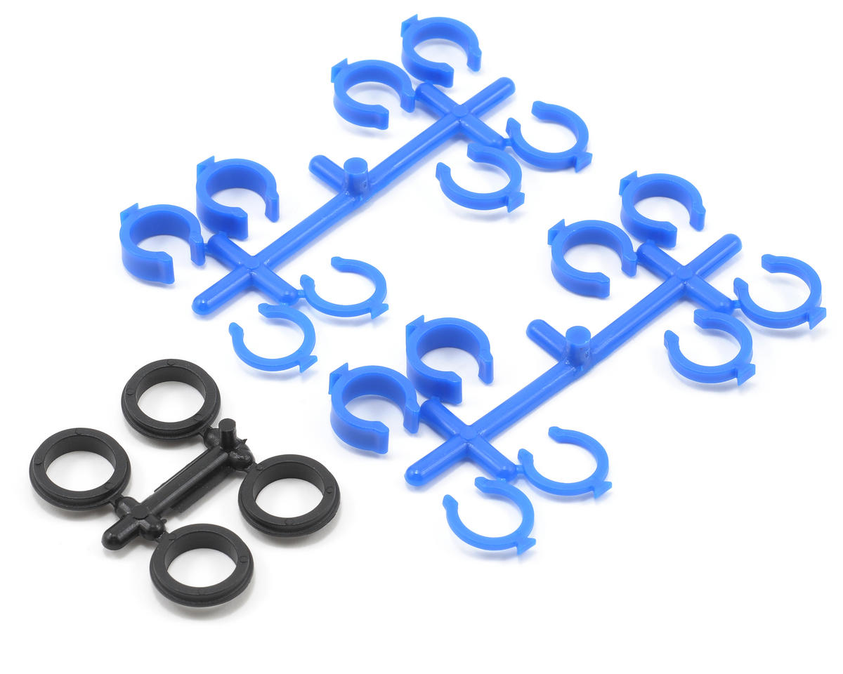 RPM Quick Adjust Spring Clips (Blue) (Losi XXX-T)