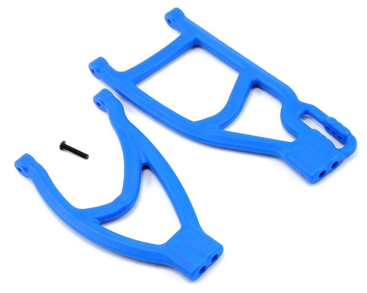 RPM Traxxas Revo/Summit Extended Rear Left A-Arms (Blue)