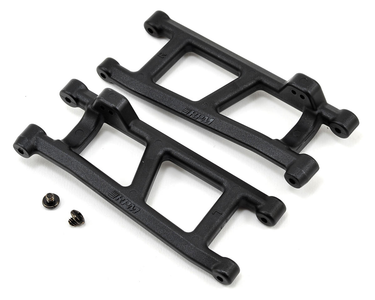 ECX Torment, Ruckus & Circuit Rear A-Arm (Black) (2) by RPM