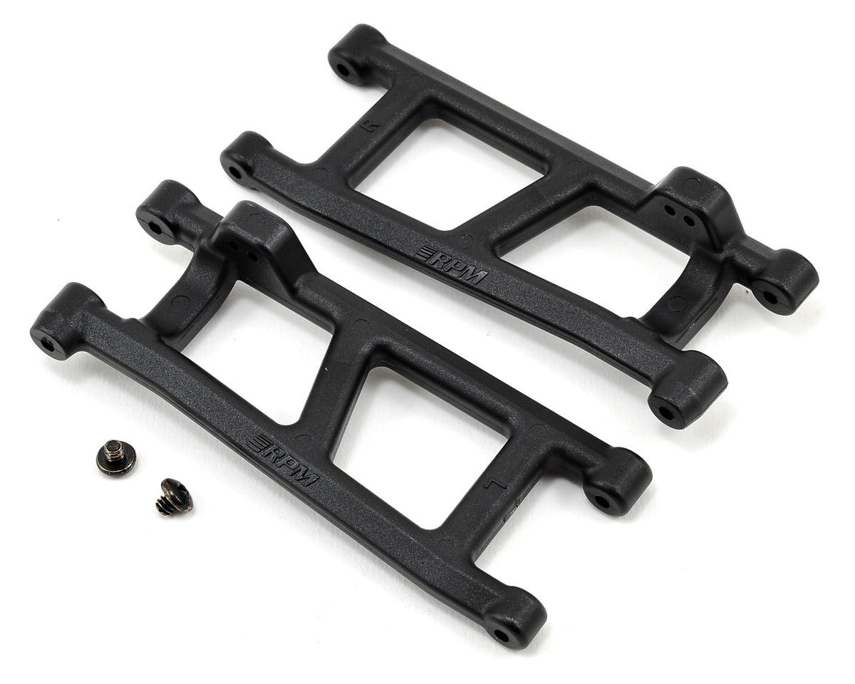 RPM ECX Ruckus Torment, & Circuit Rear A-Arm (Black) (2)