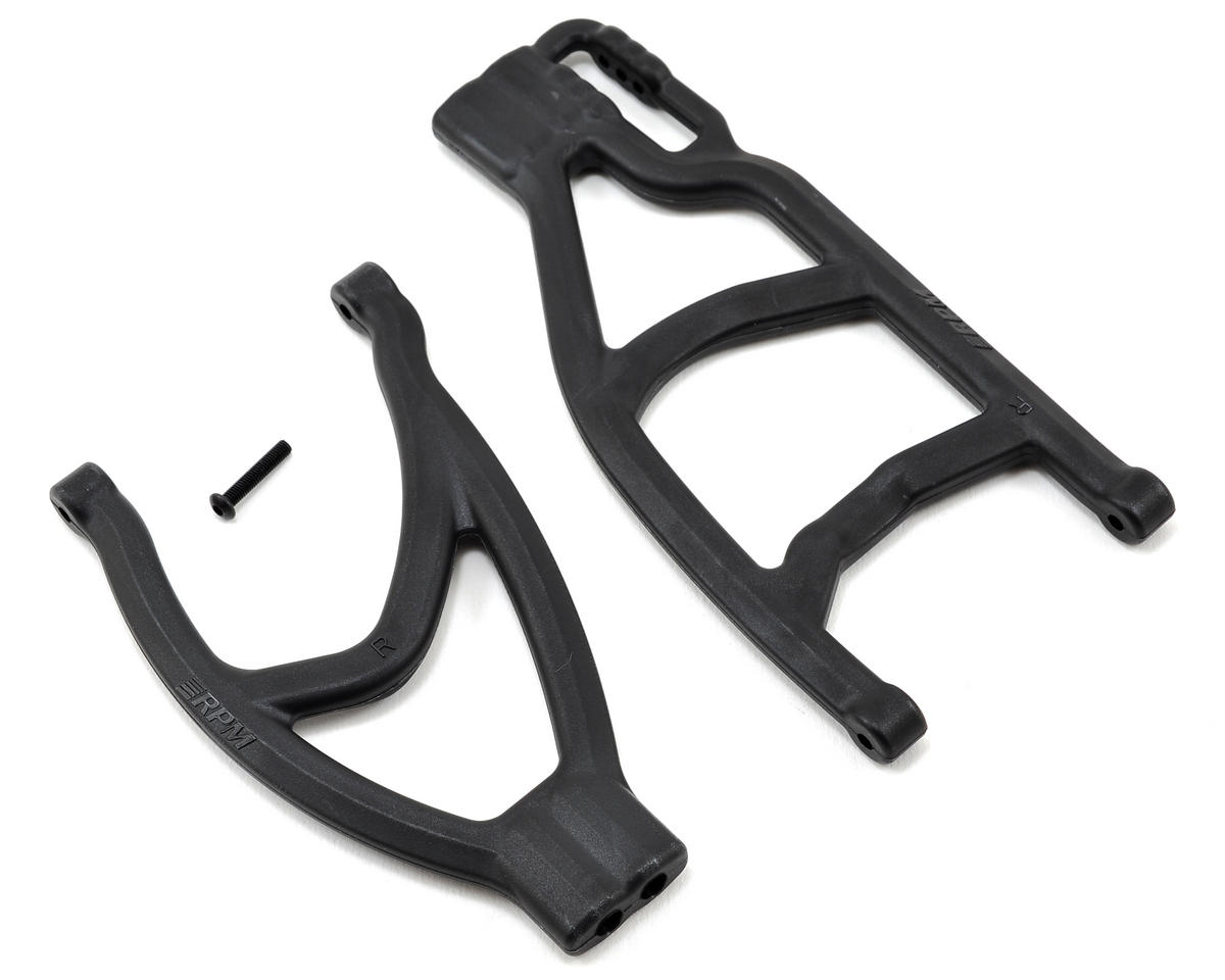 Traxxas Revo/Summit Extended Rear Right A-Arms (Black) by RPM