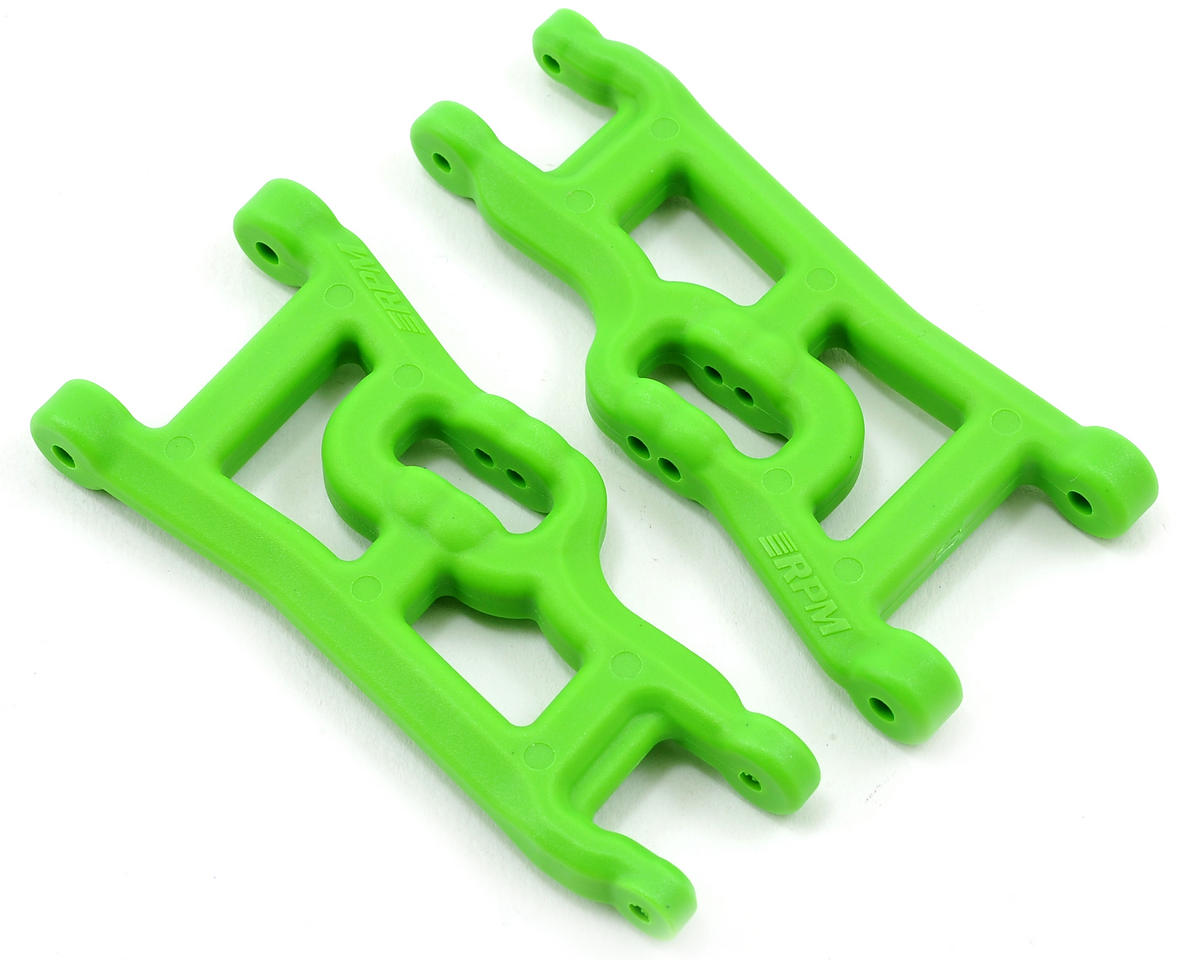Offset-Compensating Front A-Arm (Green) by RPM
