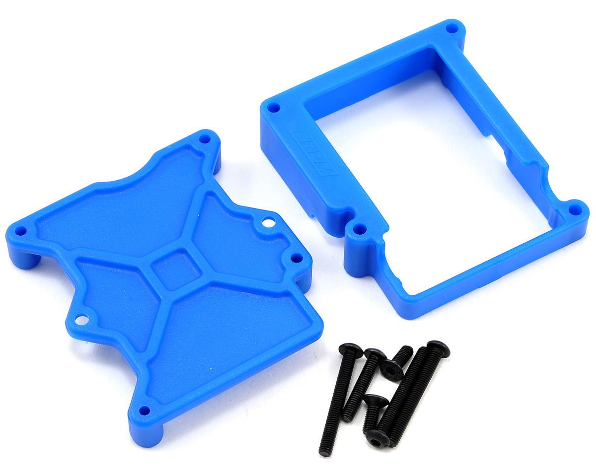 RPM Traxxas VXL-3S ESC Cage (Blue)