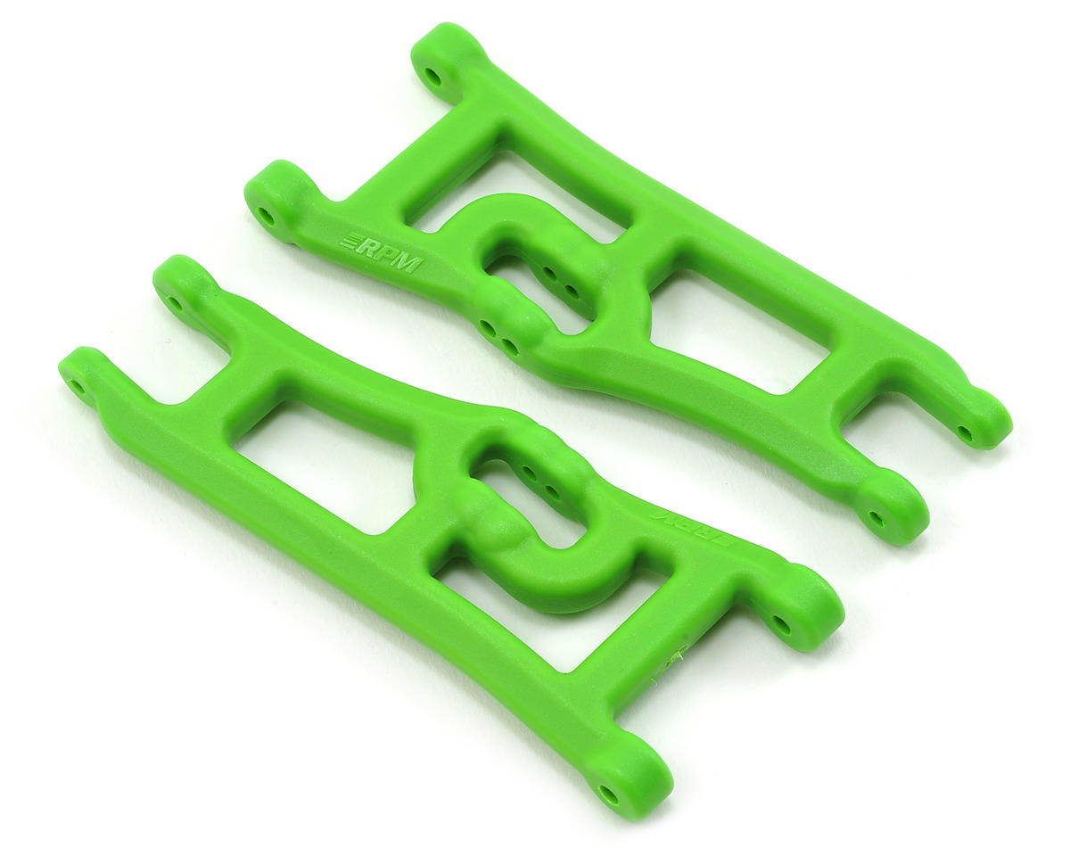 Wide Front A-Arms (2) (Green) by RPM