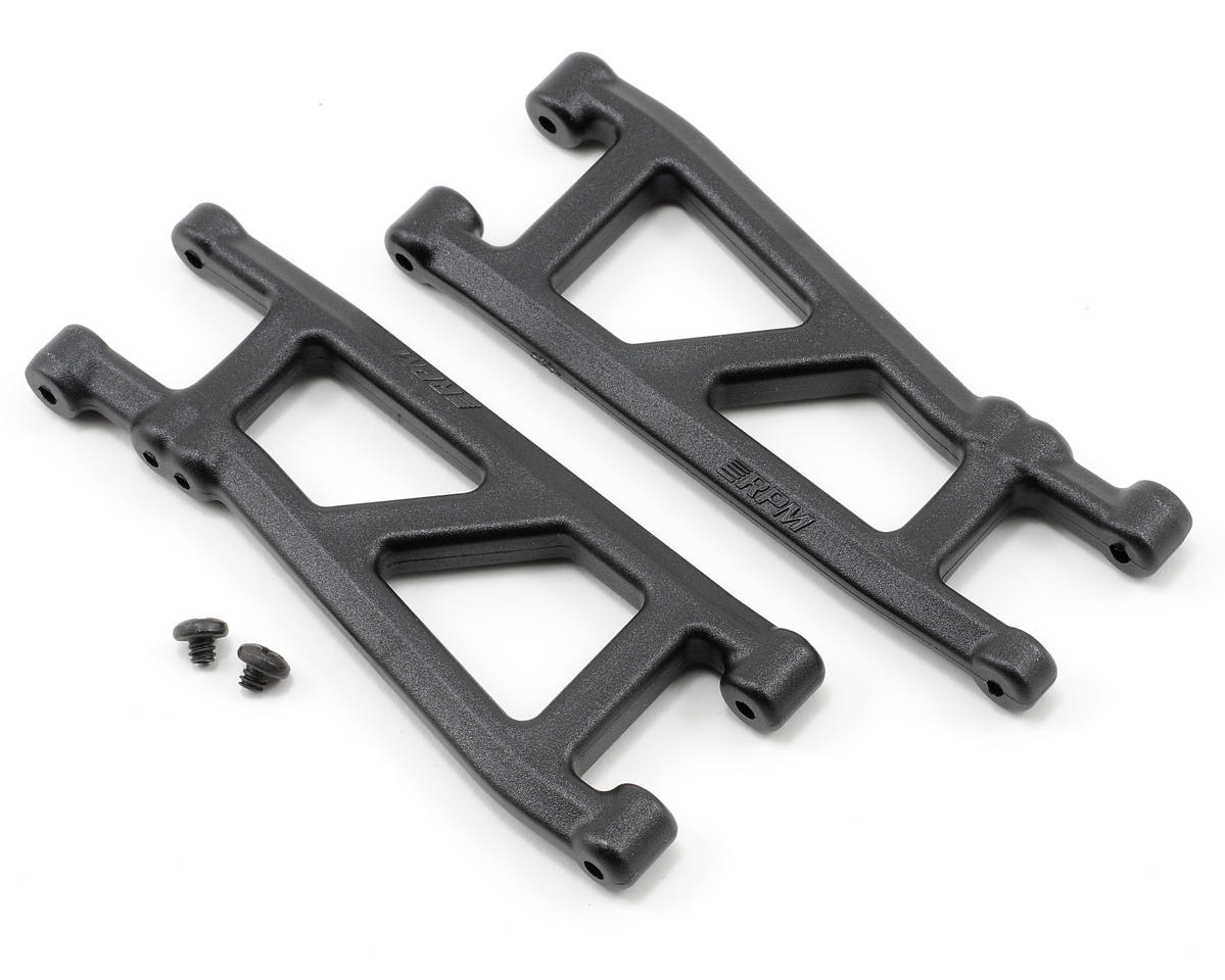 Rear A-Arms (Black) (SC10, T4) by RPM