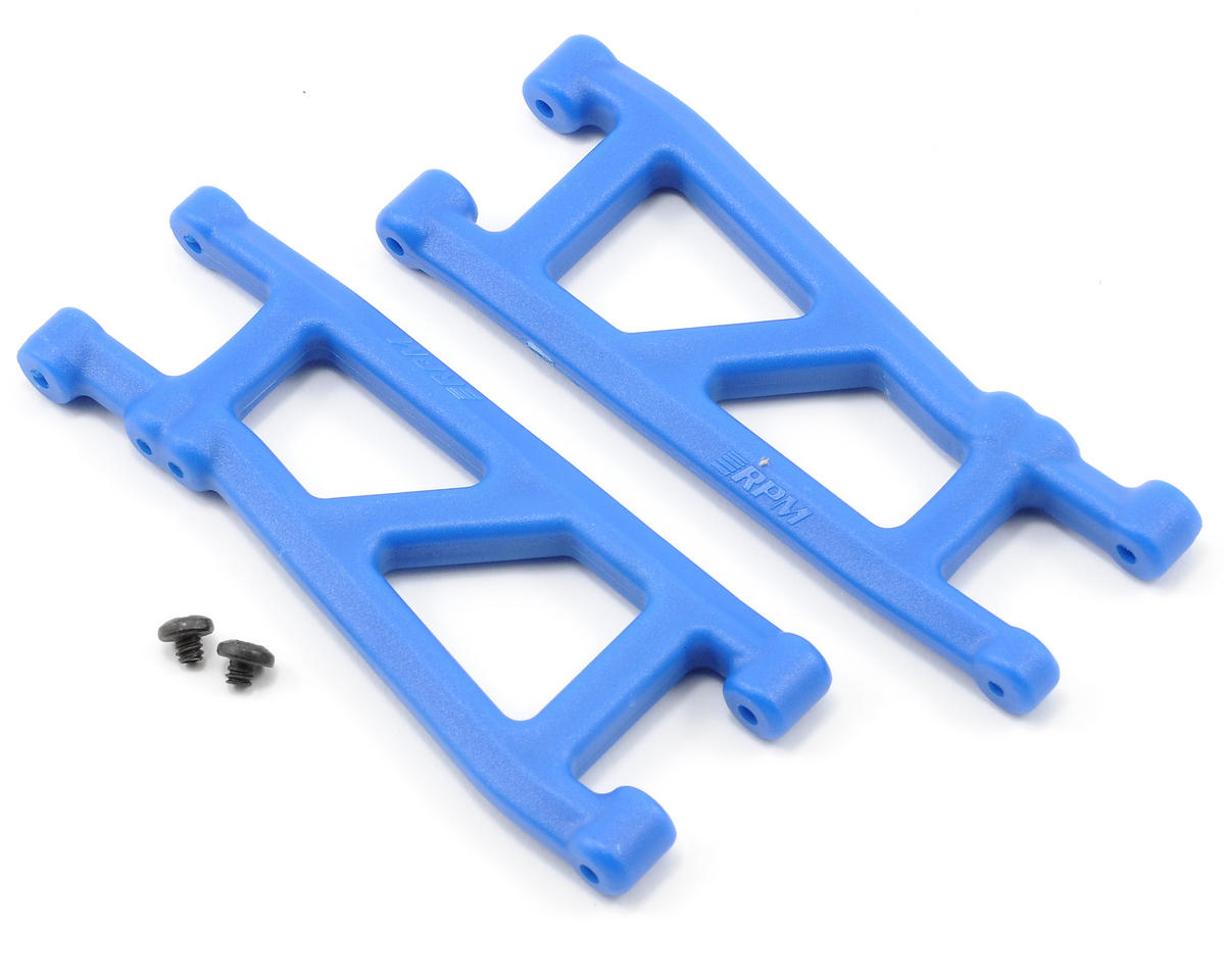 RPM Rear A-Arms (Blue) (SC10, T4)