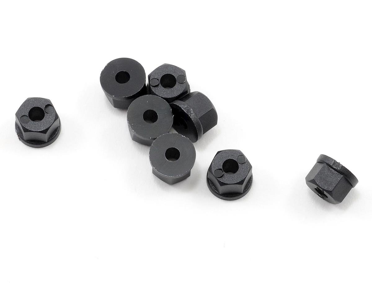 RPM 4-40 Nylon Nuts (Black) (8)