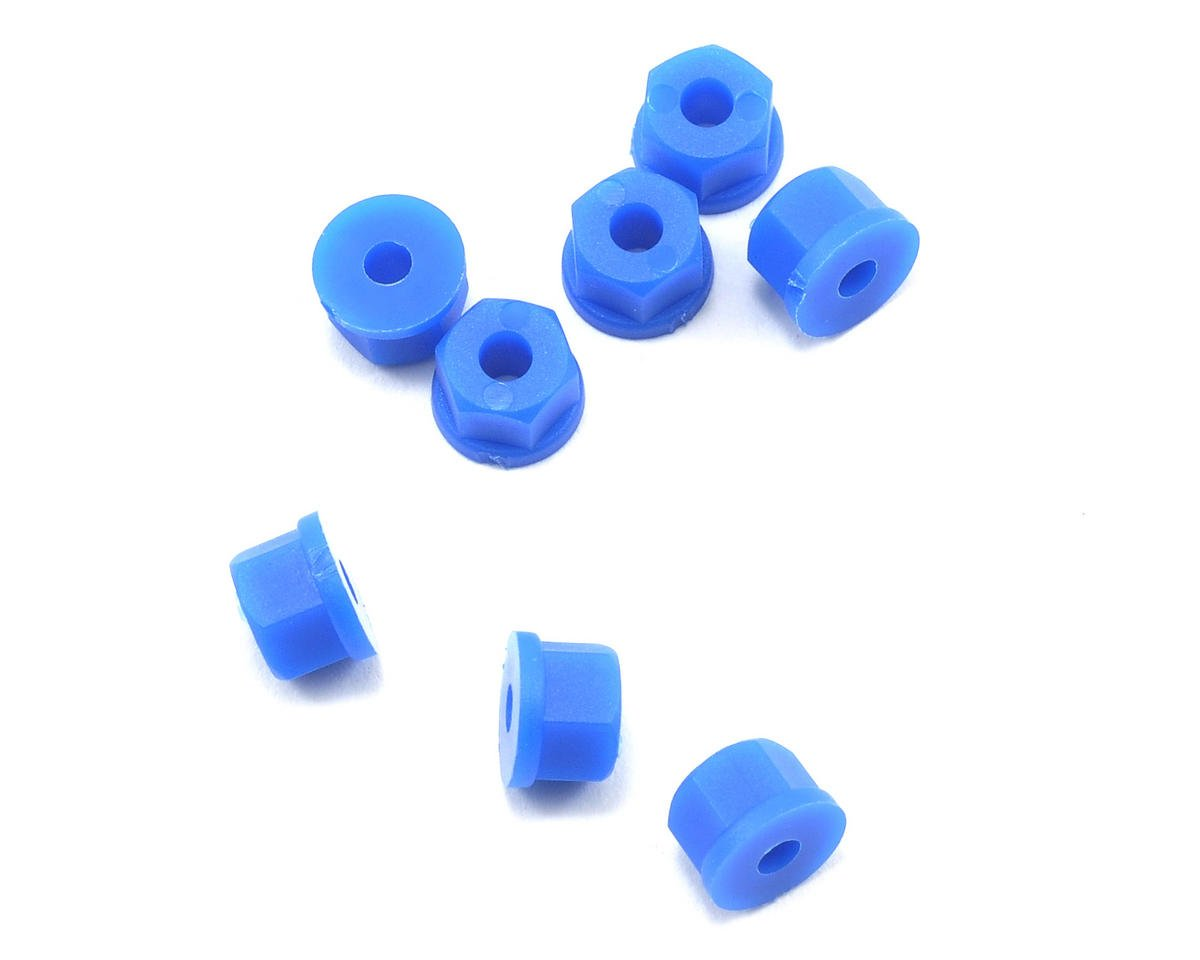 RPM Nylon Nuts 4-40 (Neon Blue) (8)