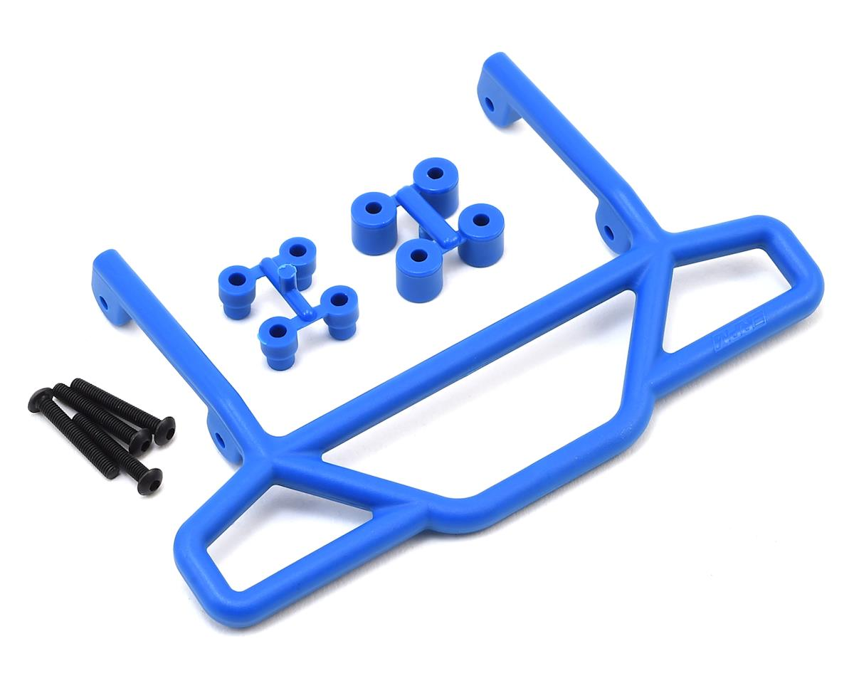 Traxxas Rustler Rear Bumper (Blue) by RPM
