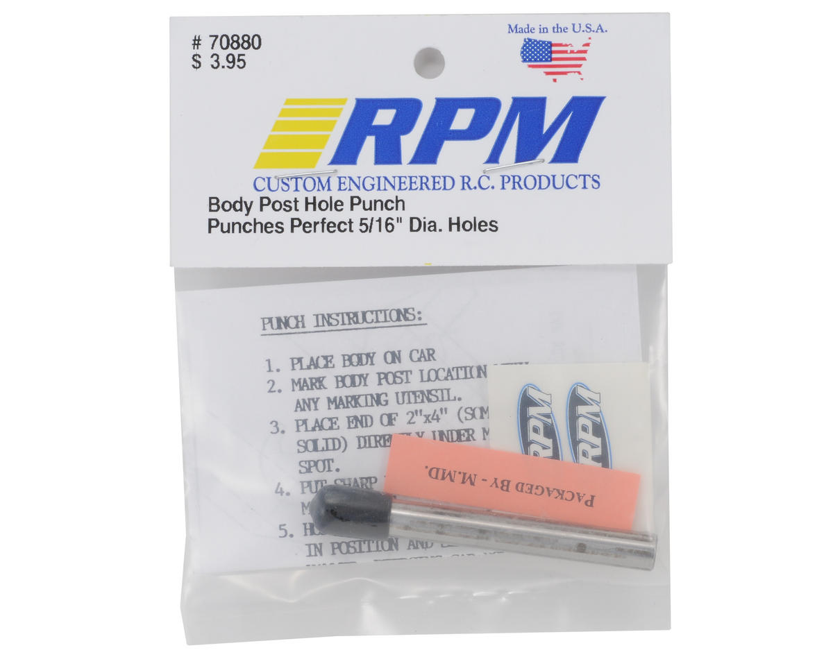 RPM Body Post Hole Punch