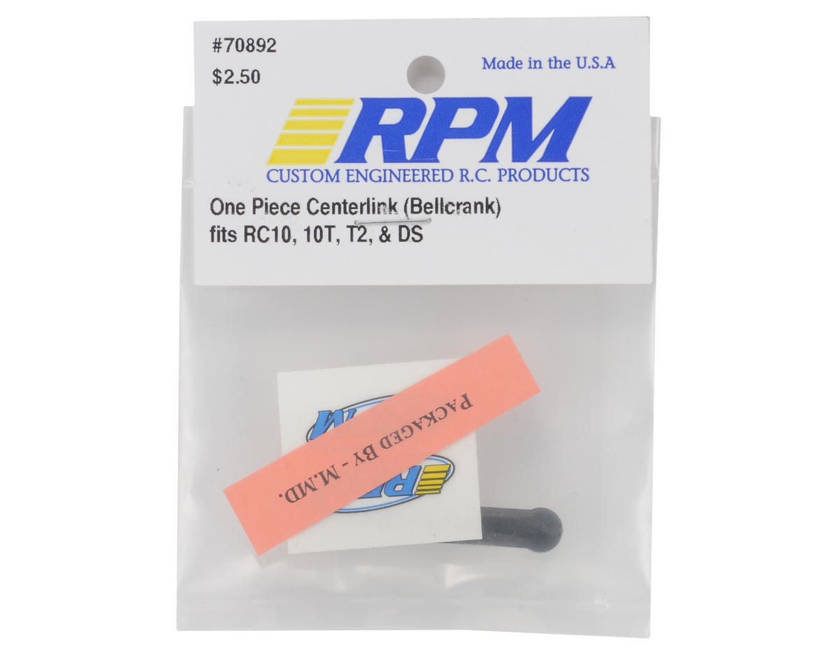 RPM 1-Piece Bellcrank Center Link (RC10,T2,GT)