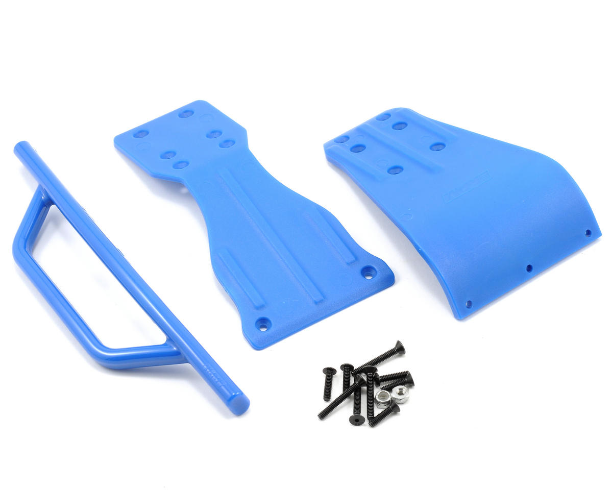 RPM Front Bumper Skid Plate & Chassis Brace Set (SC10)