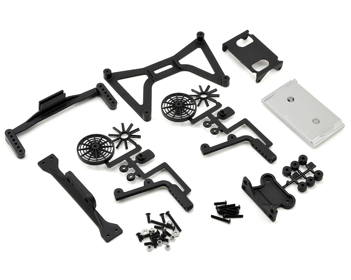 "RPM Traxxas Slash 4x4 ""No Clip"" Body Mount"