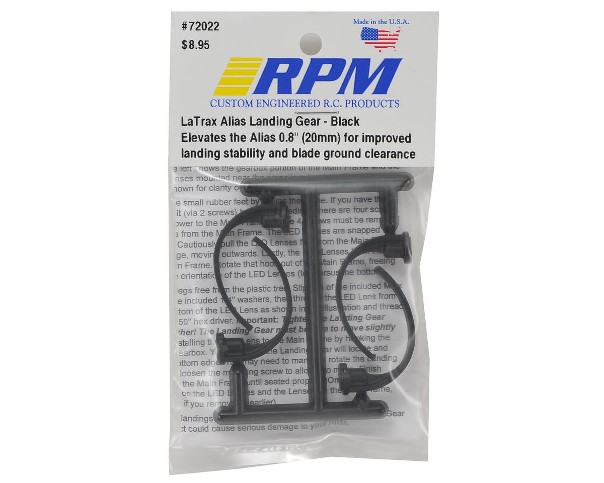 RPM LaTrax Alias Landing Gear (Black)