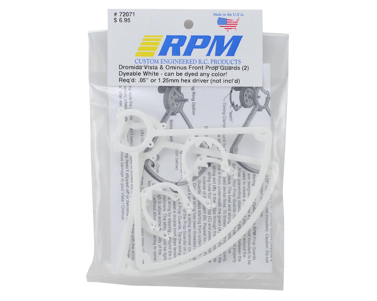 RPM Dromida Ominus Front Prop Guards (White) (2)