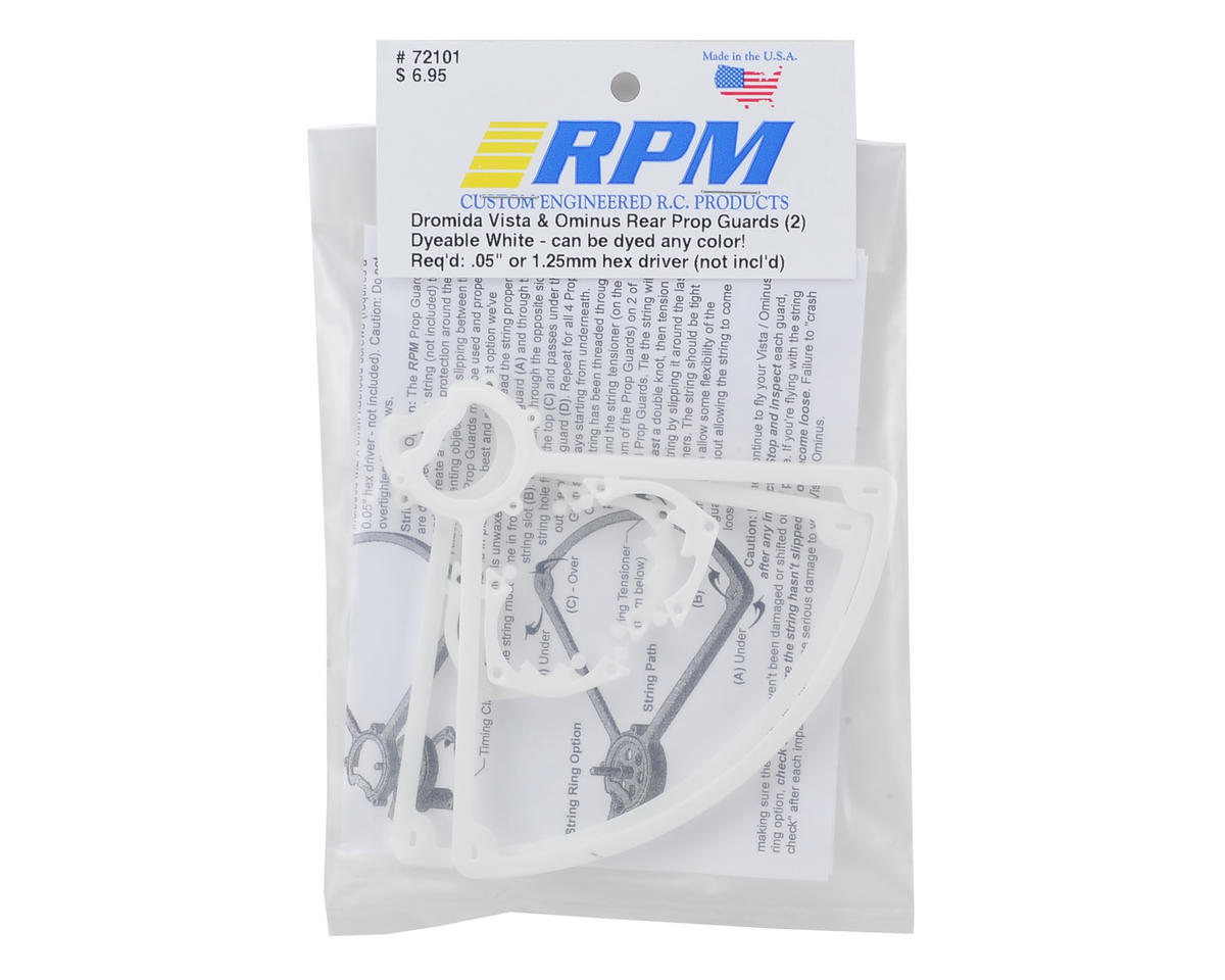 RPM Dromida Ominus Rear Prop Guards (White) (2)