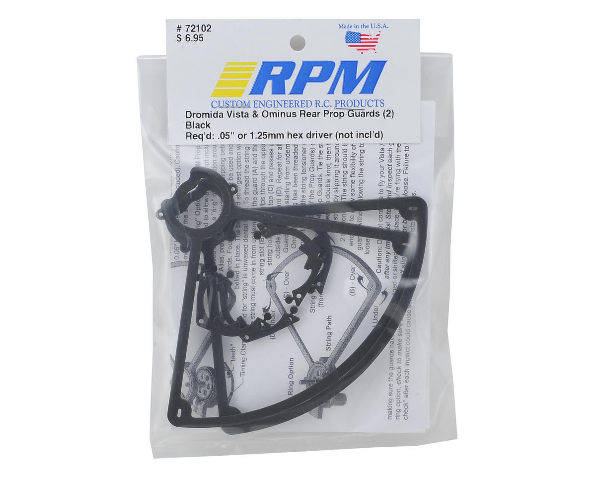 RPM Dromida Ominus Rear Prop Guards (Black) (2)