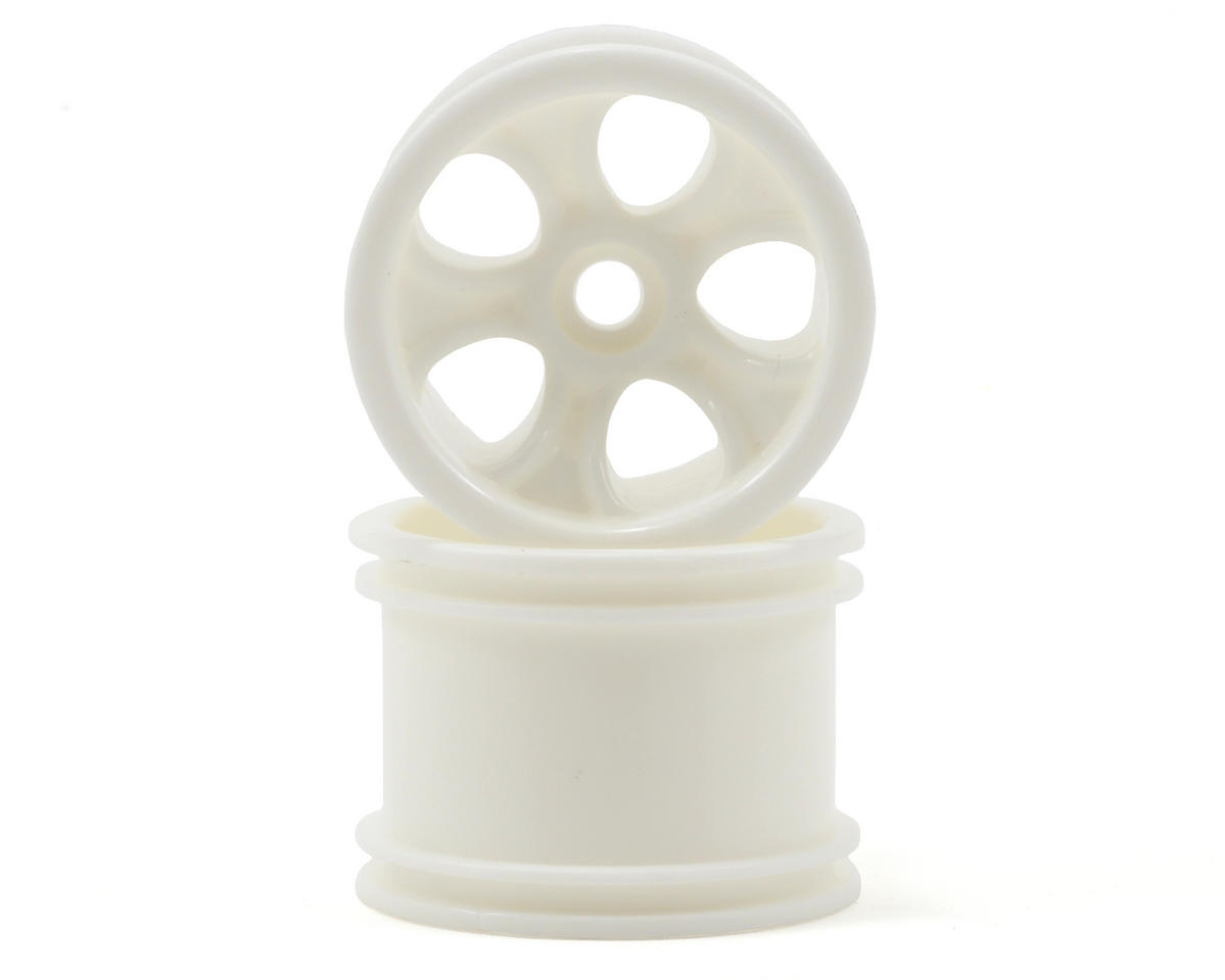 "RPM ""Bully"" Front Wheels (White) (2) (Mini-T)"