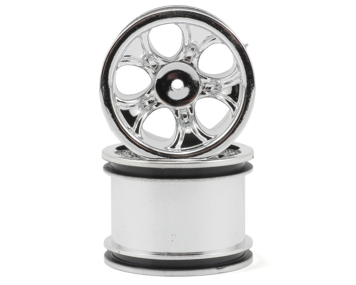 "RPM ""Bully"" Rear Wheels (Chrome) (2) (Mini-T)"