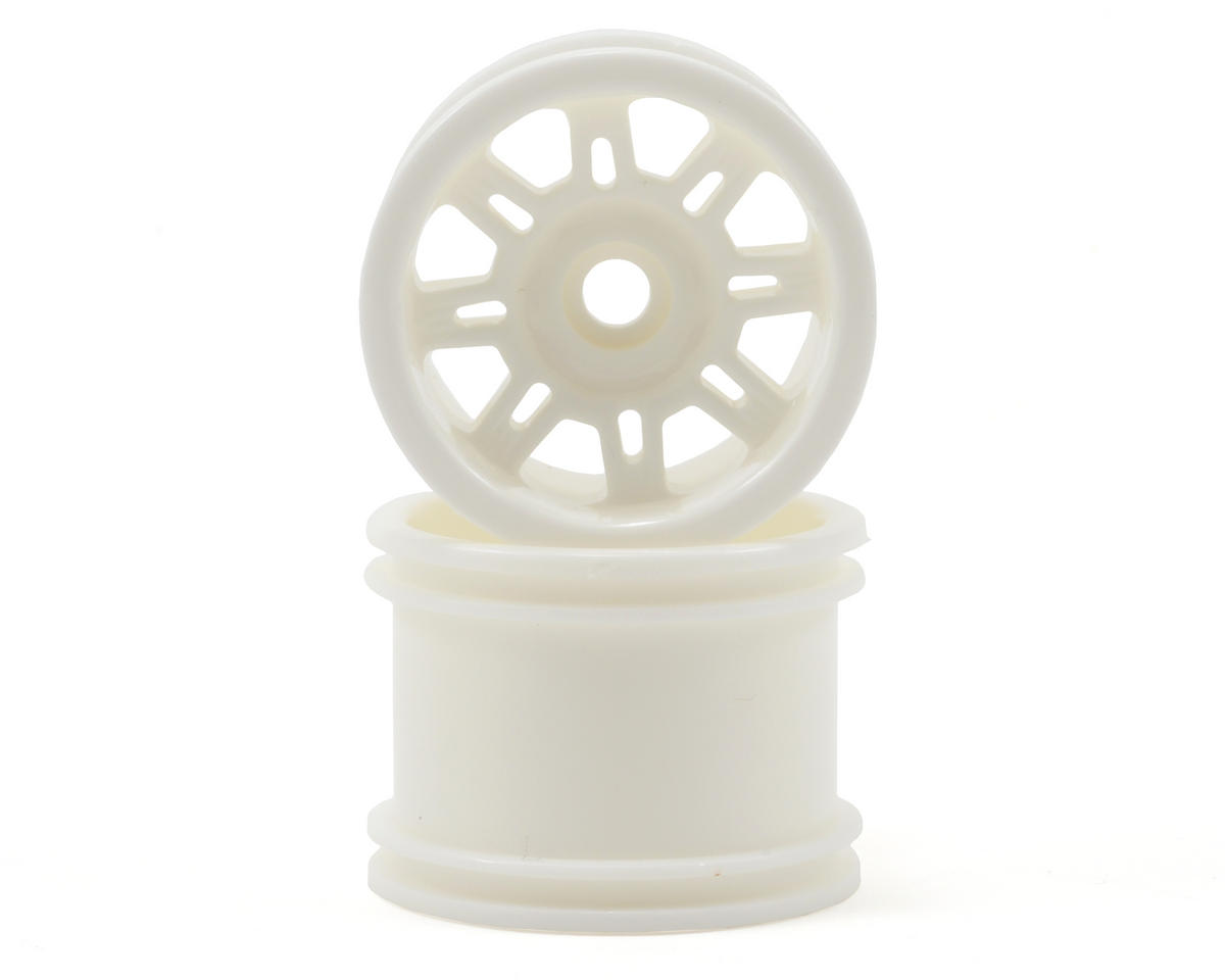 "RPM ""Spider"" Front Wheels (2) (Mini-T) (Dyeable White)"