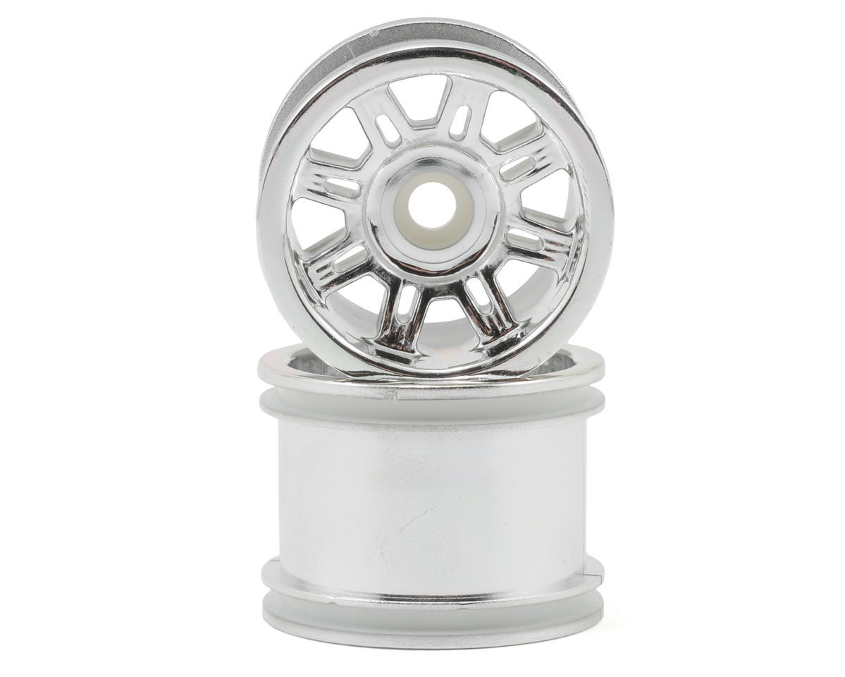 "RPM ""Spider"" Front Wheels (2) (Mini-T) (Chrome)"
