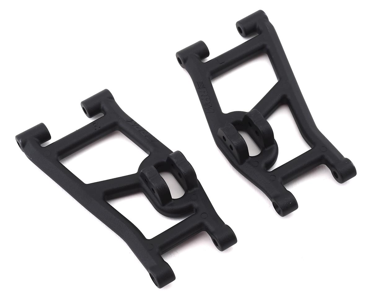 RPM Losi Super Rock Rey Front A-Arm Set (Black) (2)