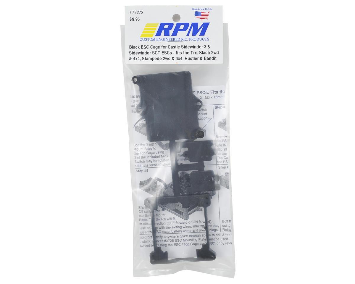 RPM Traxxas Sidewinder 3/SCT ESC Cage (Black)
