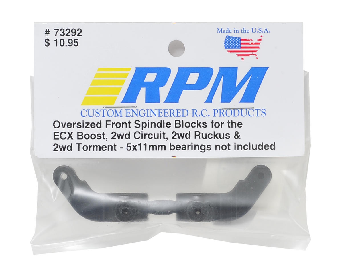 RPM ECX Front Spindle Steering Blocks (Black)