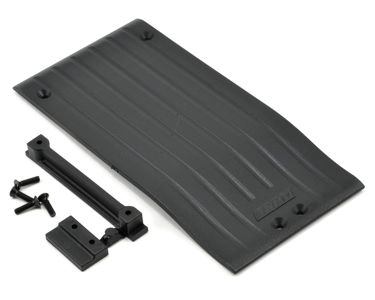 RPM Center Skid Chassis Protector Plate (Black)