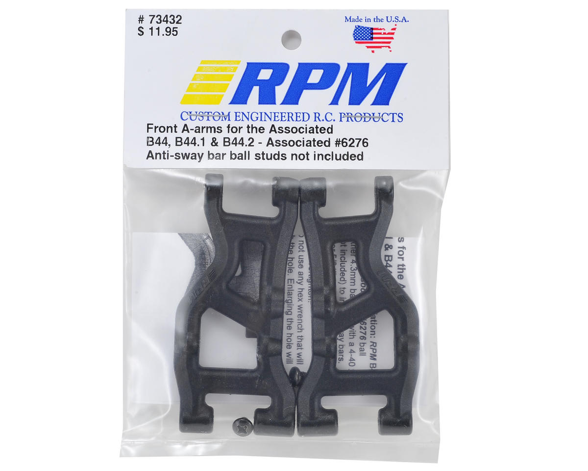 RPM B44.3 Front A-Arm (Black) (2)