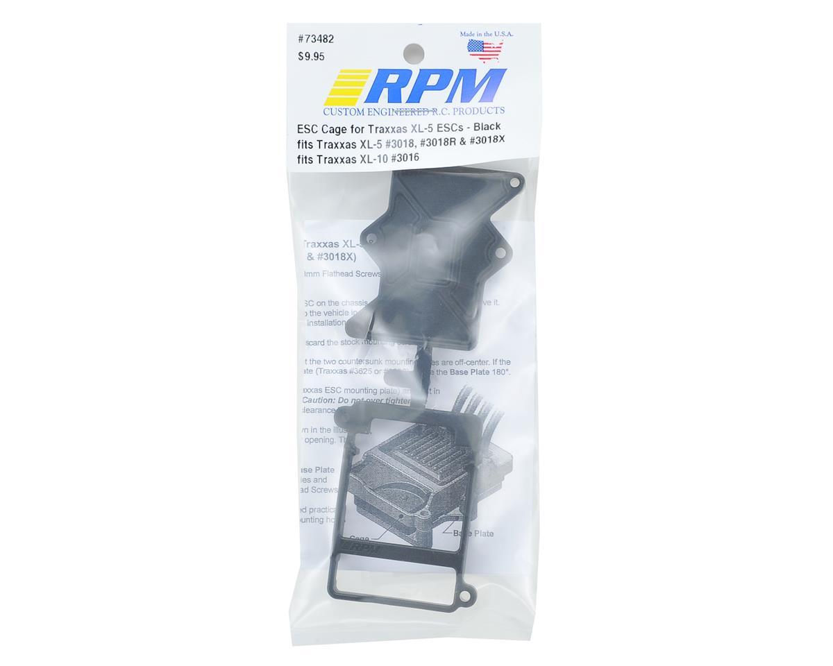 RPM Traxxas XL-5 / XL-10 ESC Cage (Black)