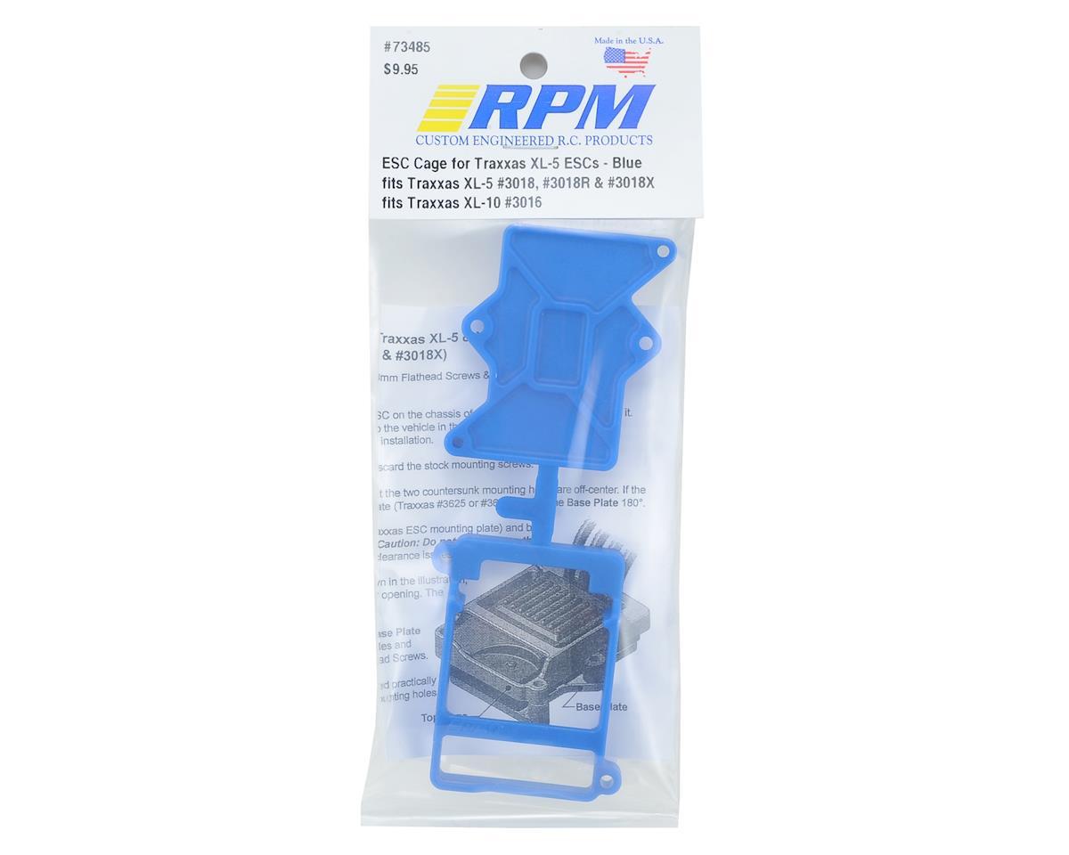 RPM Traxxas XL-5 / XL-10 ESC Cage (Blue)