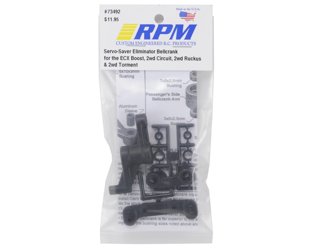 RPM ECX 2wd Servo Saver Eliminator Bellcrank