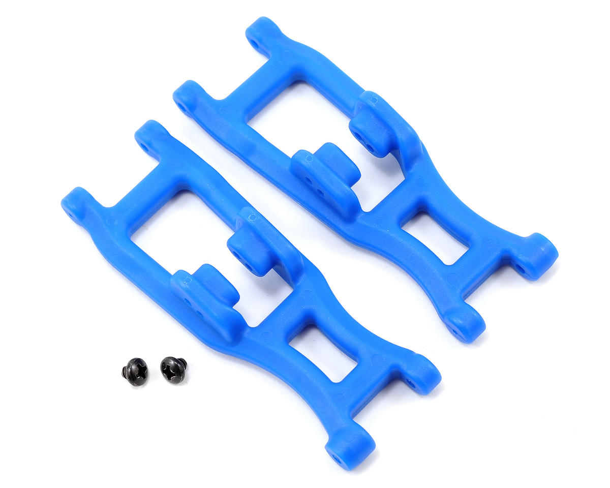 RPM Associated Truck Front A-Arms (Blue) (2) (Team SC10B)