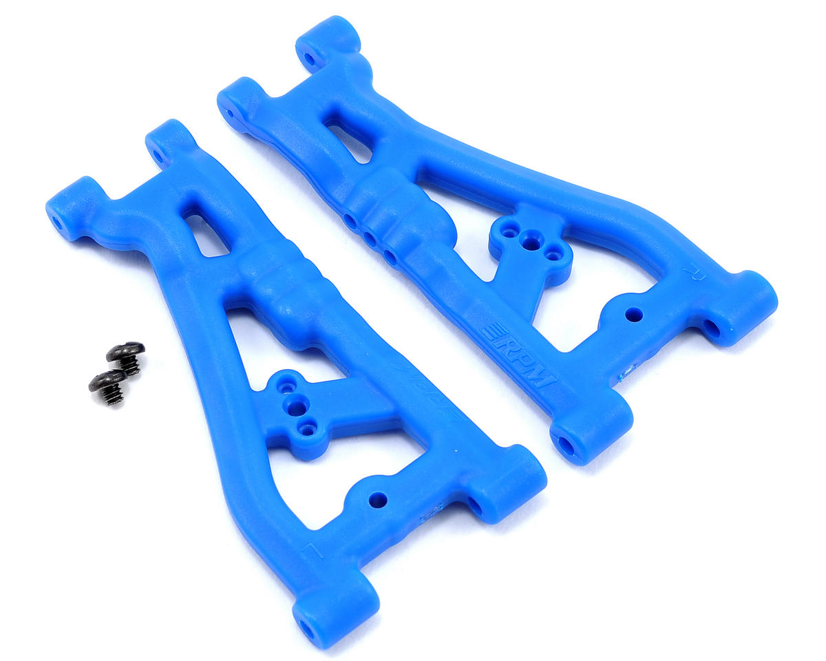 RPM Associated ProLite 4x4 Front A-Arm (Blue) (2)