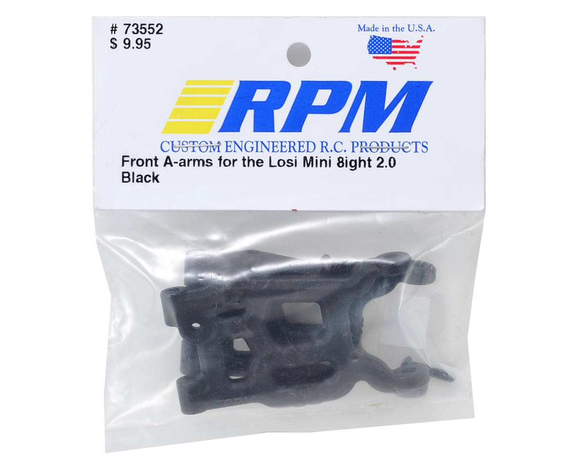 RPM Front A-Arm (Black) (Mini 8IGHT)