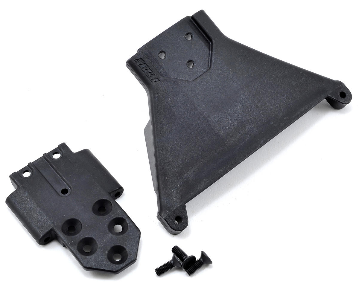 Slash LCG 4x4 Front Bulkhead (Black) by RPM