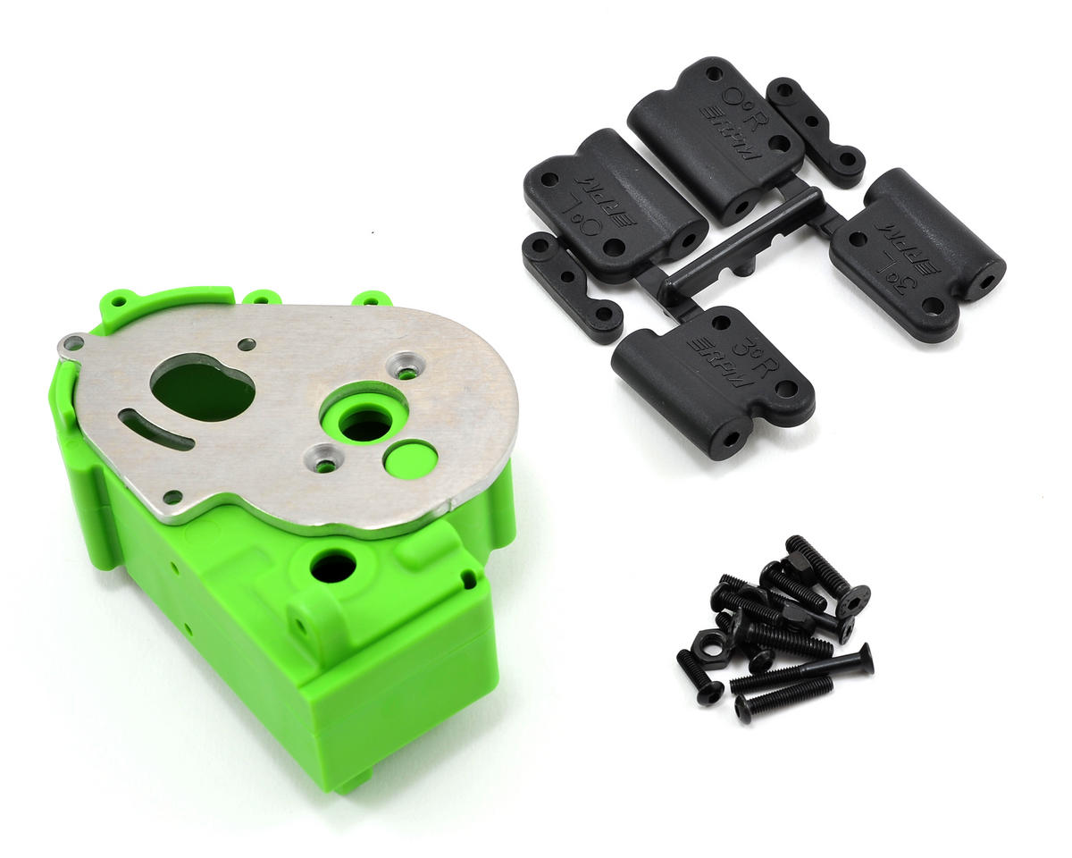 Hybrid Gearbox Housing & Rear Mount Kit (Green) by RPM